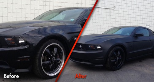 Ford Mustang GT - Before & After