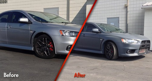 Mitsubishi Lancer Evolution GSR - Before & After