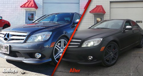 Mercedes Benz - Before & After